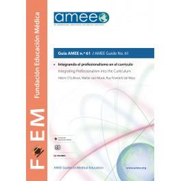 Integrando el profesionalismo en el currículo. Guía AMEE n.º 61